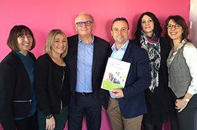 Signature du renouvellement de partenariat VAKOM  à La Roche sur Yon (19 janvier 2016)