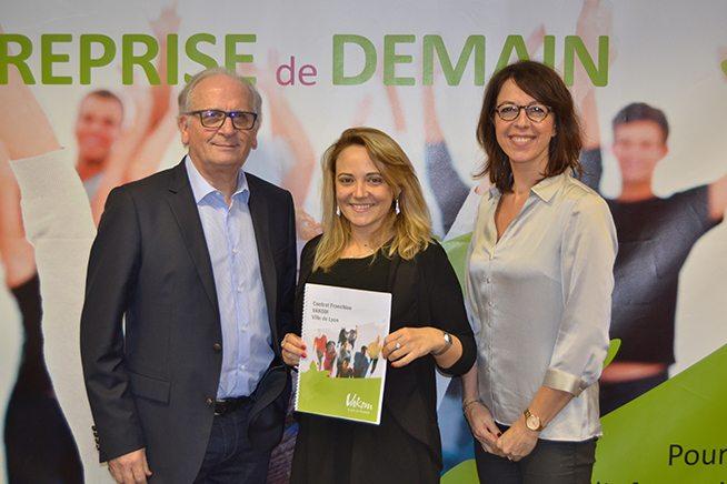 Signature franchise Vakom Lyon