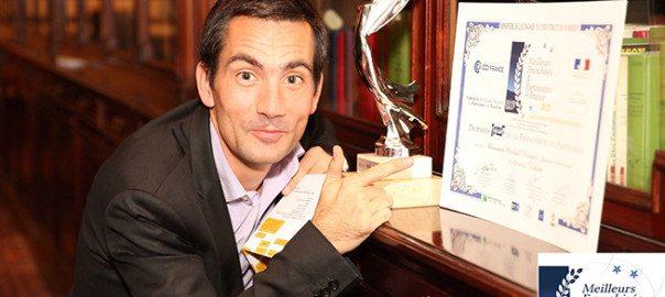 Michaël Ricquart, dirigeant de Vakom Annecy récompensé par l'IREF