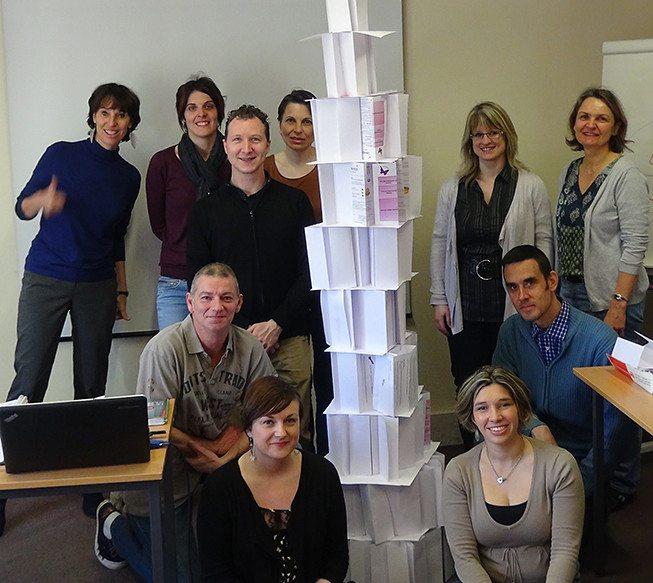 la tour infernale formation cohésion vakom à Rouen