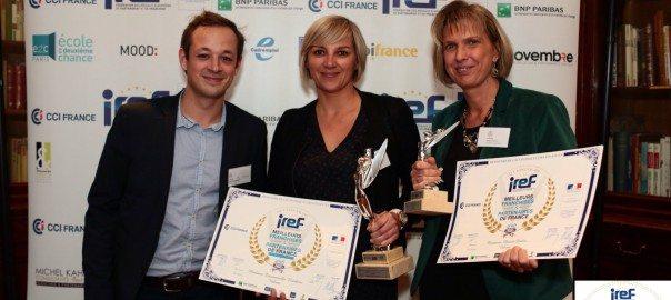 TrophéesIREF meilleurs franchisés et partenaires de France