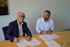 Signature de Stéphane DELPECH pour une franchise à Brives la Gaillarde