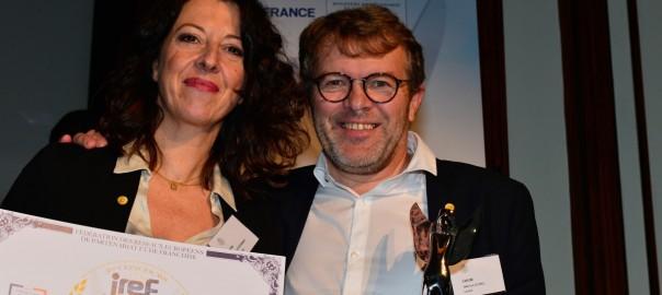 Remise du trophée IREF à Jean-Luc LE GALL