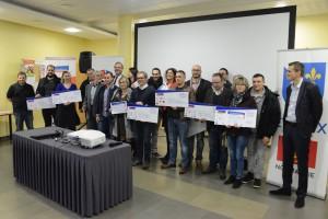 Les lauréats des entrepreneurs 2017